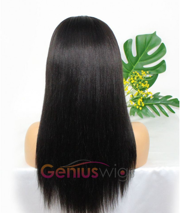 Yaki Texture Pre-plucked 250% Density 13x6 Deep Parting Thick Wig [GWD08]